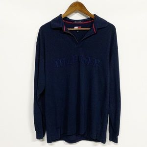 Tommy Hilfiger | Vintage Spellout Long Sleeve Polo